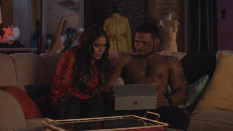 Microsoft Surface Tablet in Ambitions - Season 1, Episode 6, What About Your Friends (2019) - TV Show Product Placement