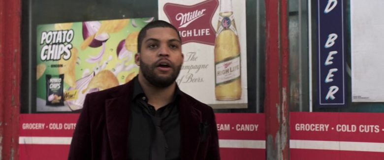 Miller High Life Beer Poster in Long Shot (2019) - Movie Product Placement
