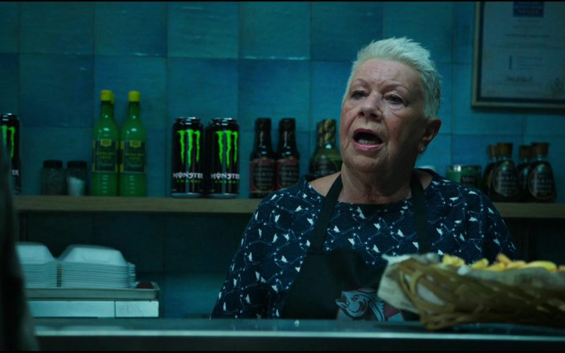 Laila Morse sitting at a table