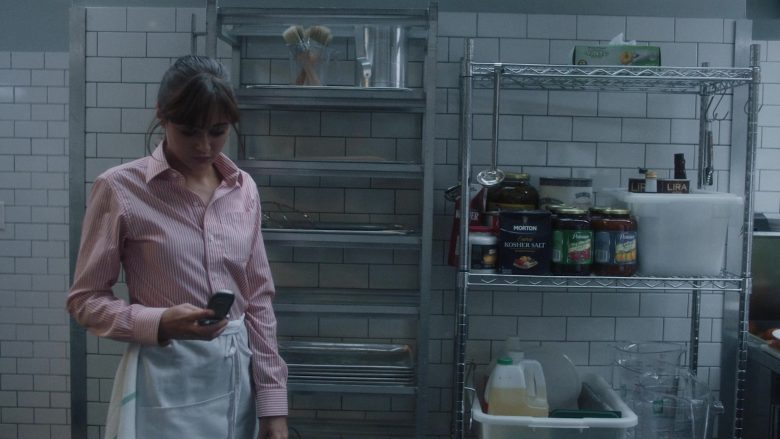 Morton Salt Kosher Salt in Sweetbitter - Season 2, Episode 4, Sec or Demi-Sec (2019) - TV Show Product Placement