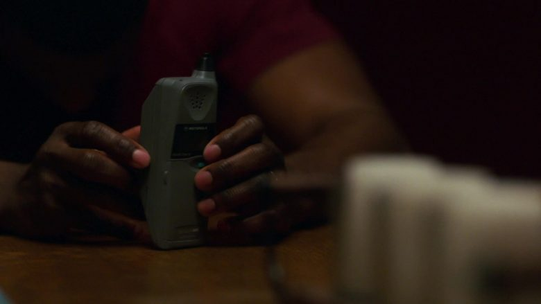 Motorola Cell Phone in City on a Hill - Season 1, Episode 7 (2019) - TV Show Product Placement