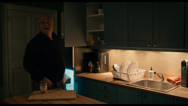 Mrs. Meyer's Soap and Kellogg's K Original Cereal in The Loudest Voice - Season 1, Episode 5, 2012 (2019) - TV Show Product Placement