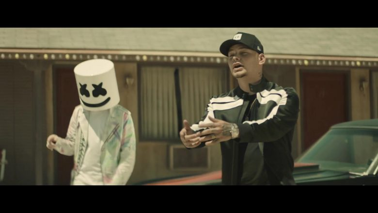 New Era x KB Logo Cap Worn by Kane Brown in One Thing Right ft. Marshmello (2019) - Official Music Video Product Placement