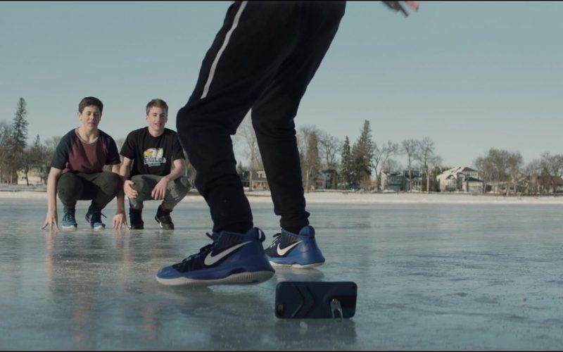 Nike Blue Sneakers Worn by Marcel Ruiz in Breakthrough (2)