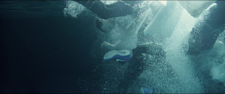 Nike Blue Shoes Worn by Marcel Ruiz in Breakthrough (2019) - Movie Product Placement