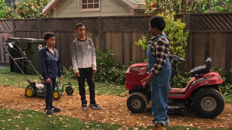 """Nike Kids Sneakers in Family Reunion - Season 1 Episode 10, """"Remember When Our Boys Became Men?"""" (2019) - TV Show Product Placement"""