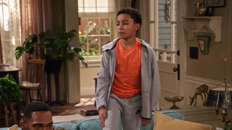 """Nike Sweatpants Worn by Cameron J. Wright in Family Reunion - Season 1 Episode 8, """"Remember Macho Mazzi?"""" (2019) - TV Show Product Placement"""