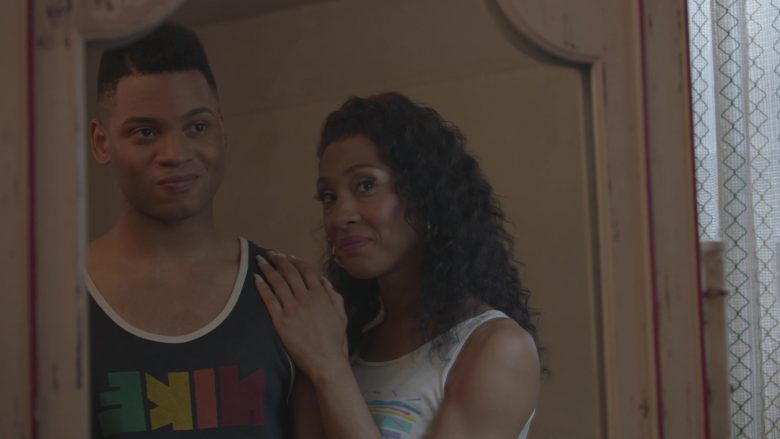 Nike T-Shirt Worn by Ryan Jamaal Swain in Pose - Season 2, Episode 5, What Would Candy Do? (2019) - TV Show Product Placement