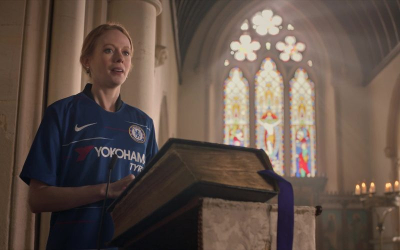 Nike, Yokohama Tyres, Chelsea Football Club in Four Weddings and a Funeral (1)