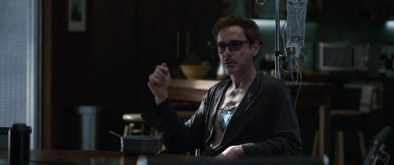 Oliver Peoples Eyewear Worn by Robert Downey Jr. as Tony Stark in Avengers: Endgame (2019) - Movie Product Placement