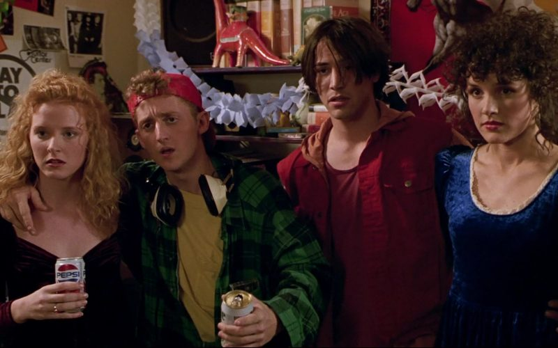 Pepsi Soda Drink Enjoyed by Sarah Trigger in Bill & Ted's Bogus Journey (4)