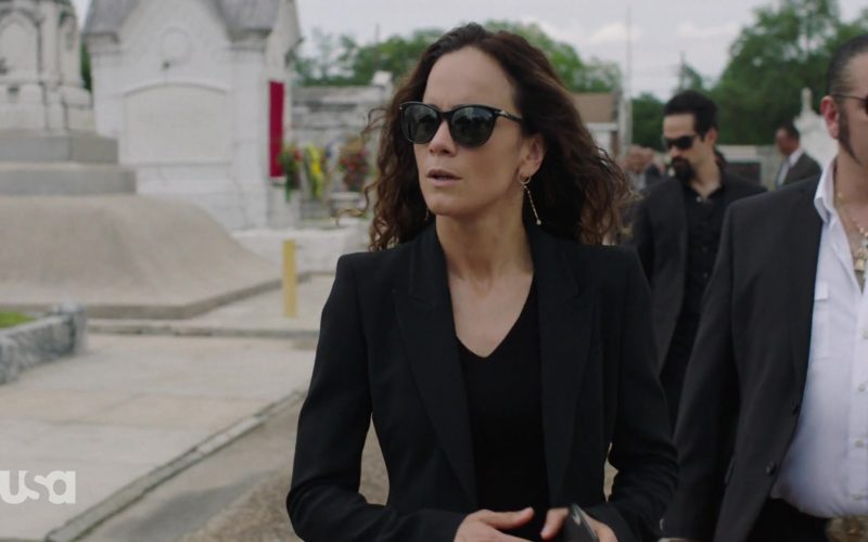 Persol Sunglasses Worn by Alice Braga in Queen of the South (1)