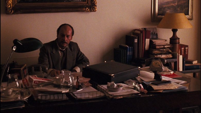 Philip Morris Cigarettes in The Godfather: Part 3 (1990) - Movie Product Placement