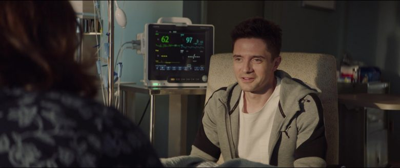 Puma Hoodie and Sweatpants Worn by Topher Grace in Breakthrough (2019) Movie Product Placement