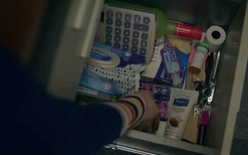 Purell Hand Sanitizer, Kleenex and Suave in Orange Is the New Black