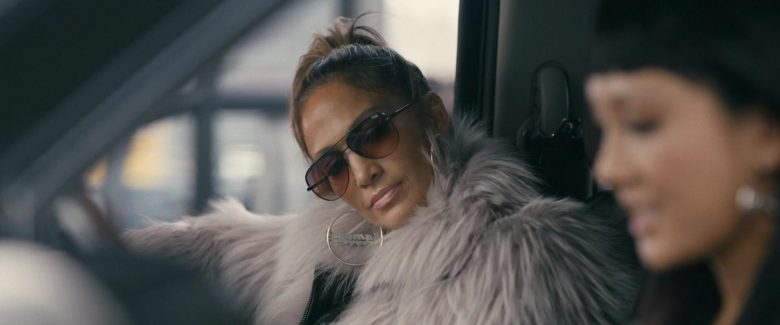 Quay Australia Oversized Sunglasses Worn by Jennifer Lopez in Hustlers (2019) - Movie Product Placement