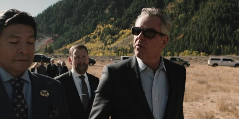 "Maui Jim Sunglasses Worn by Danny Huston in Yellowstone - Season 2, Episode 4, ""Only Devils Left"" (2019) - TV Show Product Placement"