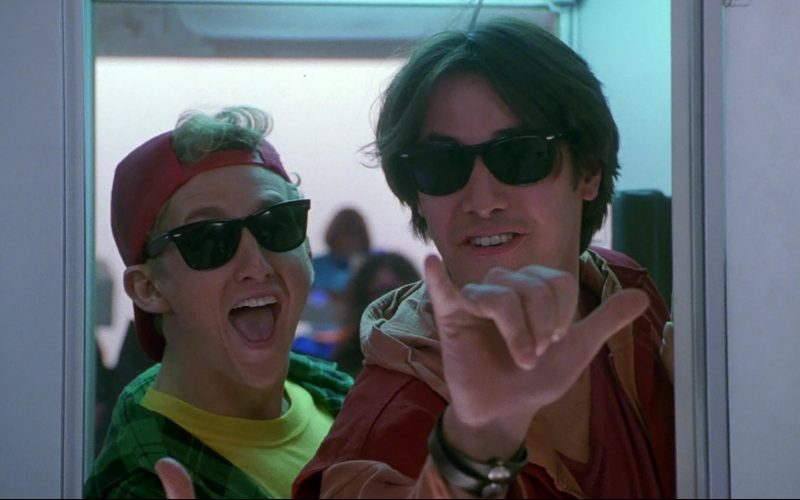 Ray-Ban Wayfarer Sunglasses Worn by Keanu Reeves & Alex Winter in Bill & Ted's Bogus Journey (5)