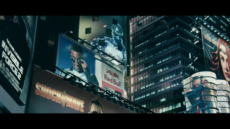 "Red Bull Energy Drink Billboard in The Boys - Season 1, Episode 1, ""The Name of the Game"" (2019) - TV Show Product Placement"