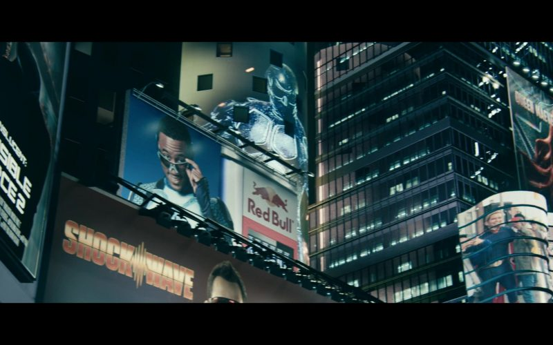 Red Bull Energy Billboard in The Boys