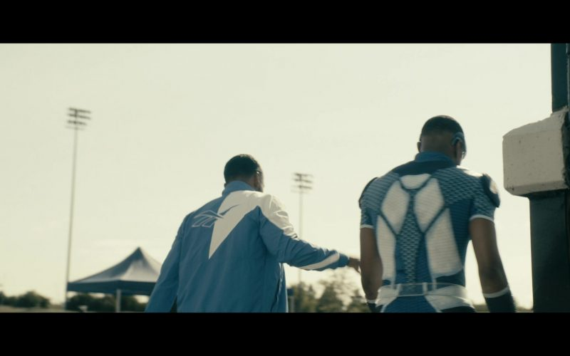 Reebok Blue and White Jacket in The Boys (1)