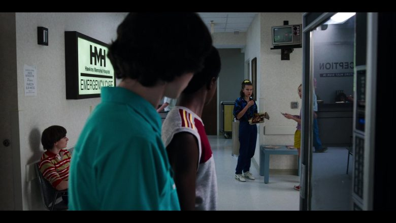 "Reebok Shoes Worn by Millie Bobby Brown in Stranger Things - Season 3, Episode 5, ""The Flayed"" (2019) - TV Show Product Placement"