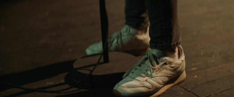 Reebok Women's White Sneakers Worn by Elle Fanning in Teen Spirit (2018) - Movie Product Placement