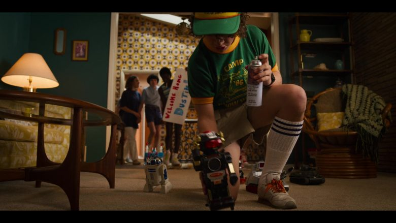"""Reebok Sneakers Worn by Gaten Matarazzo as Dustin Henderson in Stranger Things - Season 3, Episode 1, """"Suzie, Do You Copy?"""" (2019) - TV Show Product Placement"""