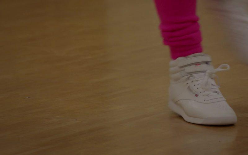 Reebok Women's White Sneakers in Pose (1)