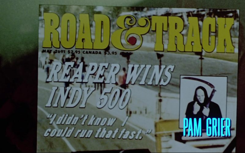 Road & Track Magazine in Bill & Ted's Bogus Journey