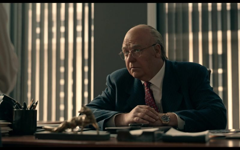 Rolex Watch Worn by Russell Crowe as Roger Ailes in The Loudest Voice (2)