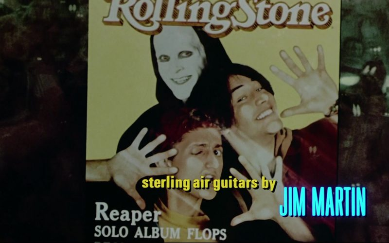 Rolling Stone Magazine in Bill & Ted's Bogus Journey (1)