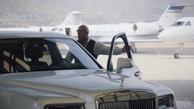 Rolls Royce Cullinan White Car Used By Dwayne Johnson As