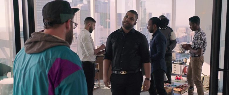 Salvatore Ferragamo Belt Worn by O'Shea Jackson Jr. (Ice Cube) in Long Shot (2019) - Movie Product Placement