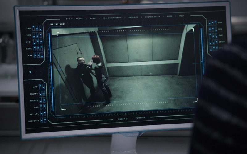 Samsung Monitors in Marvel's Agents of SHIELD (1)