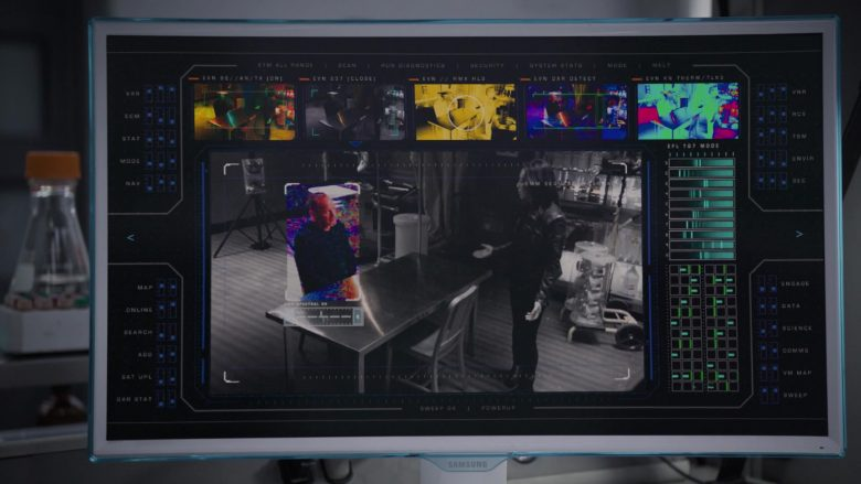"Samsung Monitors in Marvel's Agents of SHIELD – Season 6, Episode 11, ""From the Ashes"" (2019) - TV Show Product Placement"