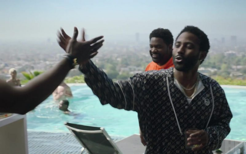 Sergio Tacchini Shirt Worn by John David Washington as Ricky Jerret in Ballers