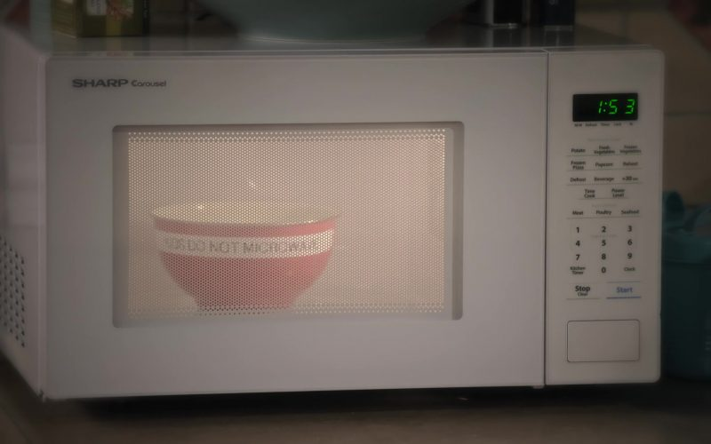 Sharp Carousel Microwave Oven in Family Reunion (1)