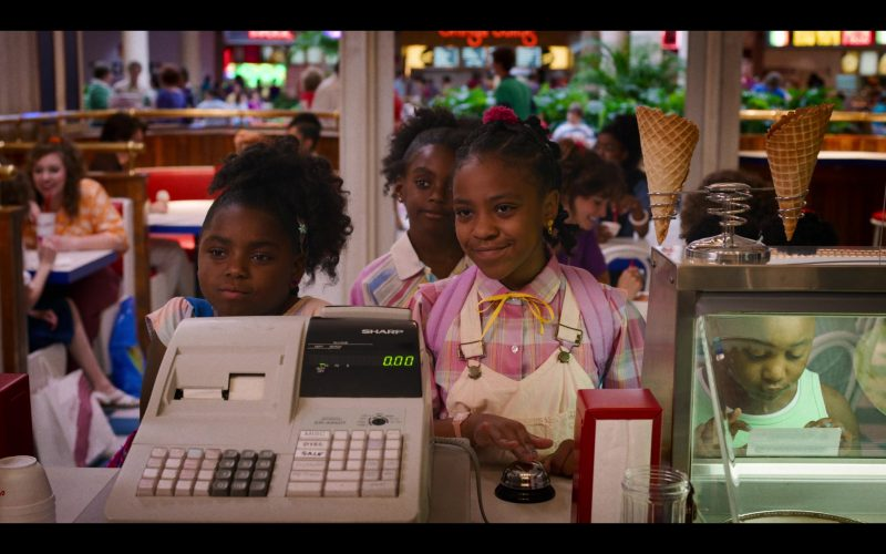 Sharp Cash Machine in Stranger Things