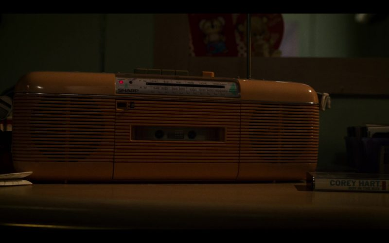 Sharp Tape Recorder in Stranger Things (1)