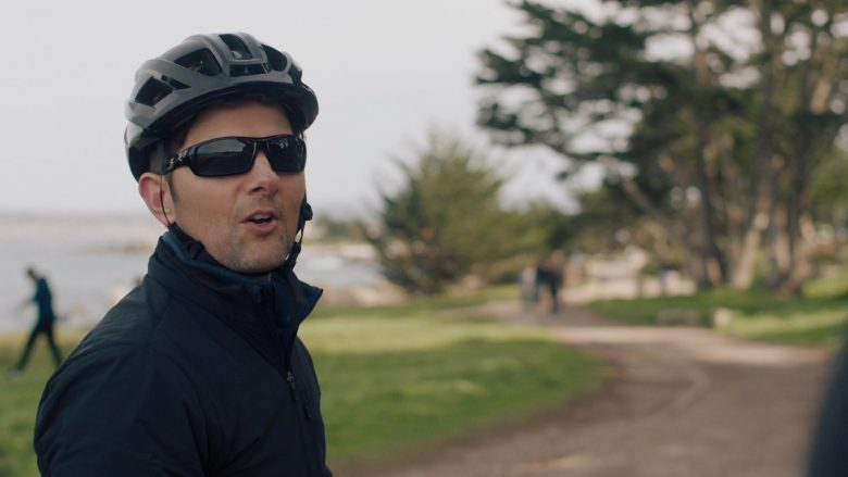 "Smith Bike Helmet and Wiley X Sunglasses Worn by Adam Scott in Big Little Lies - Season 2, Episode 5, ""Kill Me"" (2019) - TV Show Product Placement"