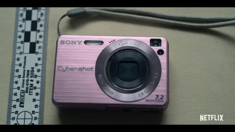 Sony Cyber-Shot Digital Camera in Unbelievable (2019) - TV Show Product Placement