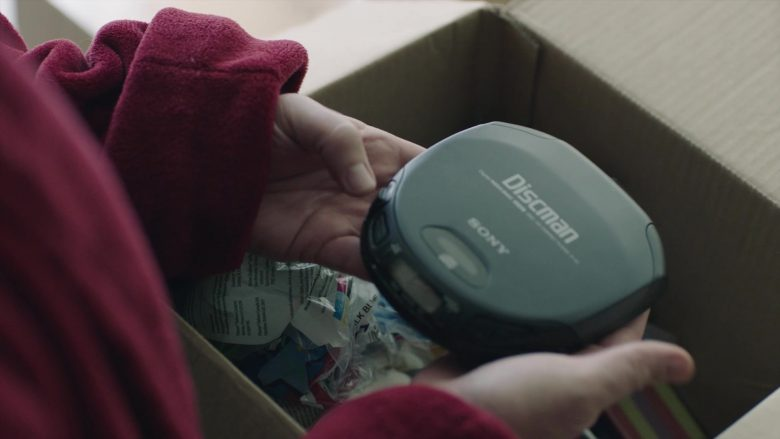 """Sony Discman CD Portable Player in Baskets - Season 4, Episode 4, """"Affirmations"""" (2019) - TV Show Product Placement"""