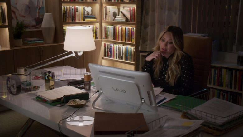 "Sony Vaio All-In-One Computer Used by Hilary Duff in Younger - Season 6, Episode 6, ""Merger, She Wrote"" (2019) - TV Show Product Placement"