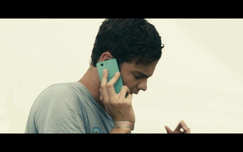 Sony Xperia Green Mobile Phone Used by Jack Quaid in The Boys
