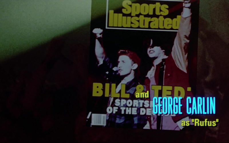 Sports Illustrated Magazine in Bill & Ted's Bogus Journey (1)