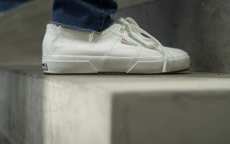 Superga White Sneakers Worn by Kristen Bell in Veronica Mars