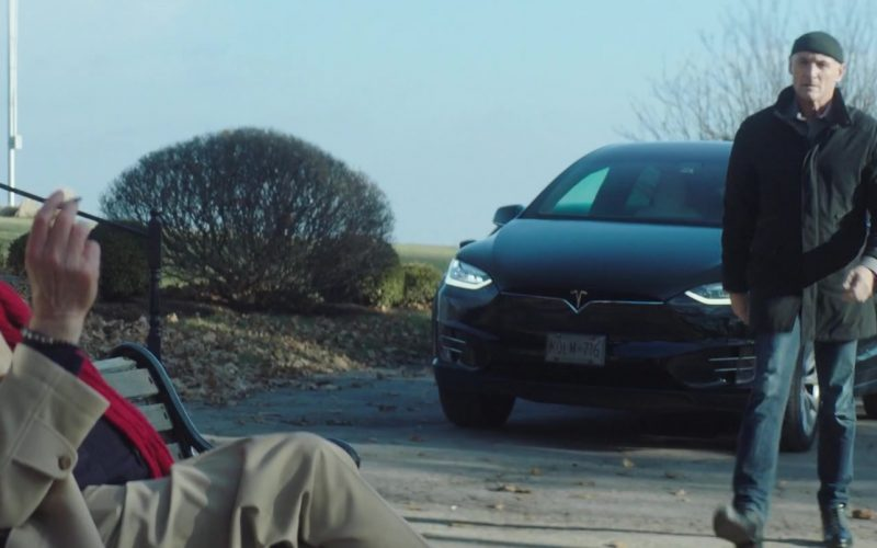 Tesla Model X Used by Colm Feore in Astronaut (3)