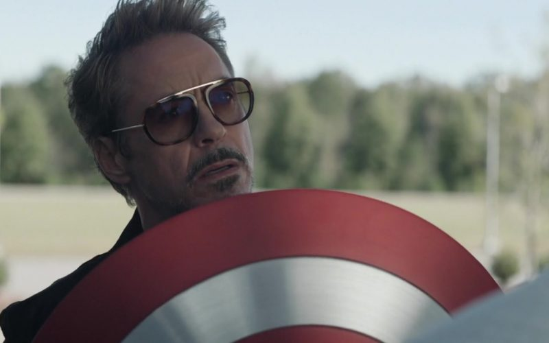 Tom Ford Havana Sunglasses Worn by Robert Downey Jr. as Tony Stark in Avengers Endgame (5)