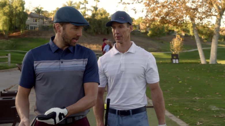 Travis Mathew Polo Shirt in Veronica Mars - Season 4, Episode 2, Chino and the Man (2019) - TV Show Product Placement